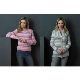 JB501 Woman's Jacket & Sweater in James C Brett Marble DK