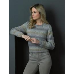 JB502 Cardigan & Sweater for Women in James C Brett Marble DK