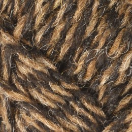 Jamieson's of Shetland Spindrift 4Ply 25g Moorit/Black N117