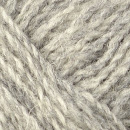 Jamieson and Smith 2ply Jumper Weight 4Ply 25g Grey 203