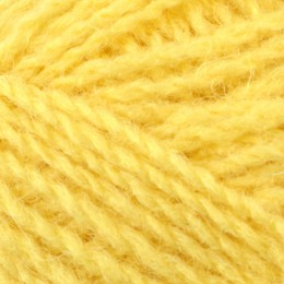 Jamieson and Smith 2ply Jumper Weight 4Ply 25g Yellow 66