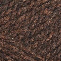 Jamieson and Smith 2ply Jumper Weight 4Ply 25g Brown 80