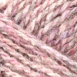 Jamieson and Smith 2ply Jumper Weight 4Ply 25g Pink FC50