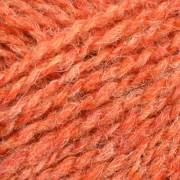 Jamieson and Smith 2ply Jumper Weight 4Ply 25g Orange FC7