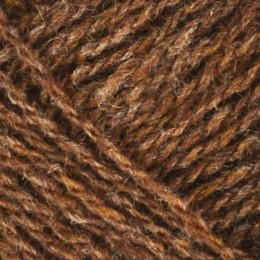 Jamieson and Smith 2ply Lace 25g Brown 4