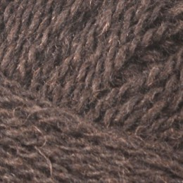 Jamieson and Smith 2ply Lace 25g Brown 5