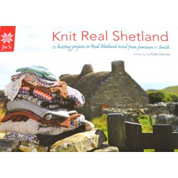 Jamieson and Smith Knit Real Shetland Kntting Pattern Book