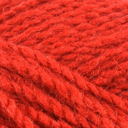 Jamieson and Smith Soft Spun Aran 50g Red 21