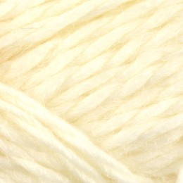 Jamieson and Smith Shetland Aran Worsted 50g Optic White 1