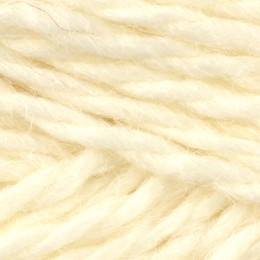 Jamieson and Smith Shetland Aran Worsted 50g White 2