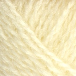 Jamieson and Smith Shetland Heritage 2ply Jumper Worsted 25g White 1