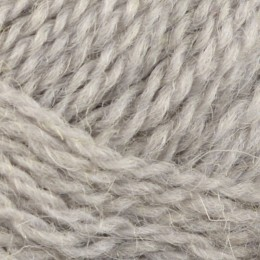 Jamieson and Smith Shetland Heritage 2ply Jumper Worsted 25g Silver Grey 5