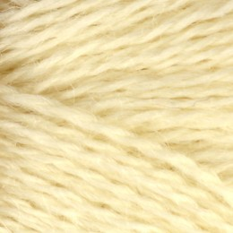 Jamieson and Smith Shetland Heritage 2ply Jumper Worsted Naturals Natural White
