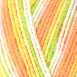 King Cole Big Value Baby Print 4Ply 100g Peaches 2573