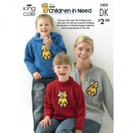 KC1002 Pudsey Jumpers for the Family