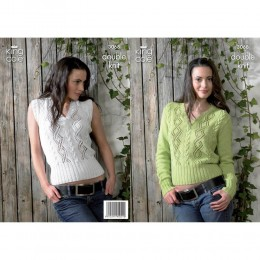 KC3068 Women's Jumper and Top in DK