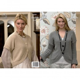 KC3201 Women's Cardigan and Bolero in DK