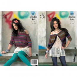 KC3214 Women's Cardigan and Top in Riot DK