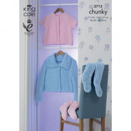 KC3713 Cardigan and Accessories for Children