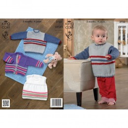 KC3723 Cardigan, Jumper and Top for Children and Babies