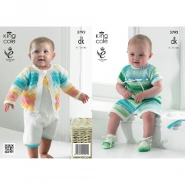 KC3792 Cardigan, and Accessories for Babies