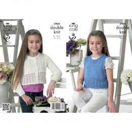 KC3904 Cardigan and Top for Children