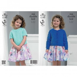 KC3940 Cardigan and Top for Children