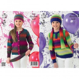 KC3945 Jumper, Cardigan and Accessories for Children
