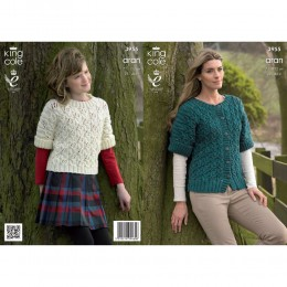 KC3955 Cardigan, Jumper and Top for Women and Children