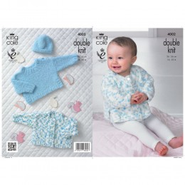 KC4002 Cardigan, Jumper and Accessories for Babies