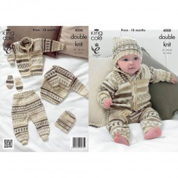 KC4008 Outdoor Set for Babies in King Cole Cherish DK