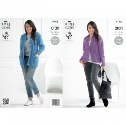 KC4142 Jackets for Women in Recycled Cotton Aran