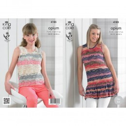 KC4185 Summer Tops for Women in King Cole Opium Palette