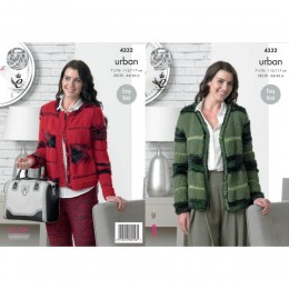 KC4332 Women Cardigans Knitted with Urban