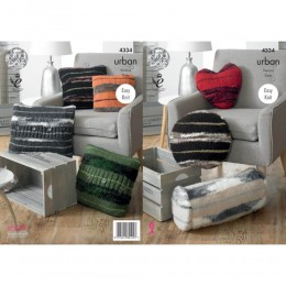 KC4334 Cushions Knitted with Urban