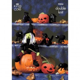 KC9004 Halloween Pattern Knitted with Bamboo Cotton DK
