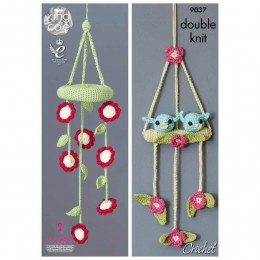 KC9037 Baby Mobiles Knitted with Bamboo DK