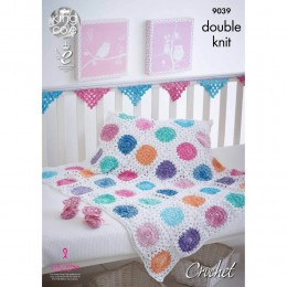 KC9039 Baby Accessories Crocheted with Vogue DK & Bamboo Cotton DK
