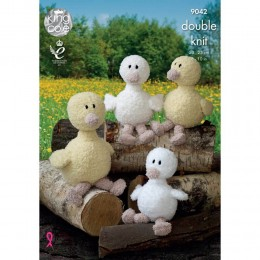 KC9042 Ducks Knitted with Cuddles DK