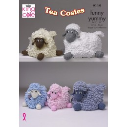 KC9119 Tea Cosies in King Cole Funny Yummy