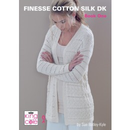 King Cole Finesse Cotton Silk DK Book 1
