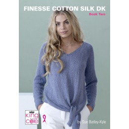 King Cole Finesse Cotton Silk DK Book 2