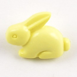 Bunny Shank Buttons Yellow