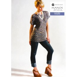 Manos Serena - Lavender Top by Anniken Allis