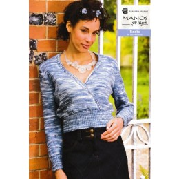Manos Silk Blend - Sadie Cropped Jumper by Sue Hanmore