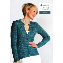 Manos Serena - Thyme Cardigan by Anniken Allis