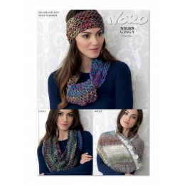 NSL009 Ladies Scarf and Headband Ginga