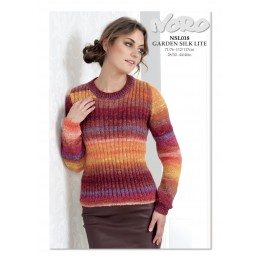 NSL018 Ladies Ribbed Jumper Garden Silk Lite