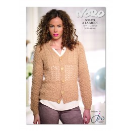 NSL029 Ladies Lacey Cardigan A La Mode