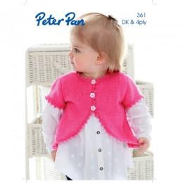 P361 Peter Pan DK and 4ply